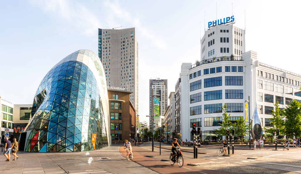 stadscentrum Eindhoven, Noord-Brabant