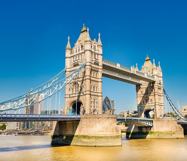 Tower Bridge, een van de mooiste bezienswaardigheden in Londen