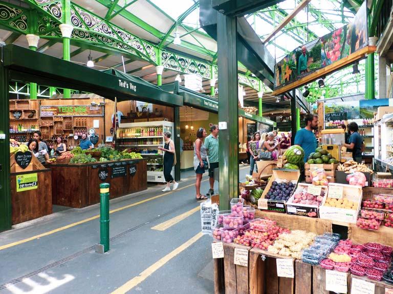 Voedselmarkt Borough Market is een van de belangrijkste bezienswaardigheden in Londen